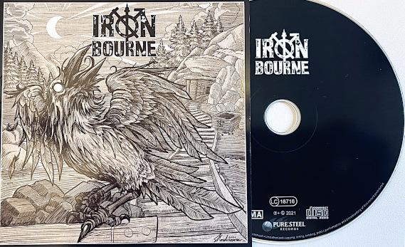Image show IronBourne Album Discography